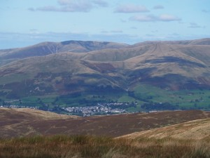 The Howgill Fells from Calf Top
