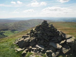The top of Castle Knott