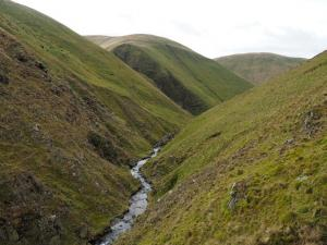 Looking back along Great Ulgill Beck