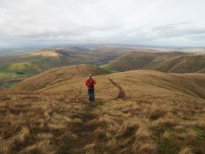 Descending Fell Head