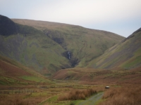 Getting closer to Cautley Spout