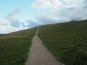 The path leading up to Coldstones Cut