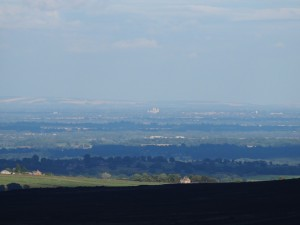 A distant York Minster