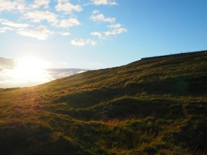 Evening light on Greenhow Hill