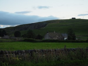 Looking back at Greenhow Hill Top