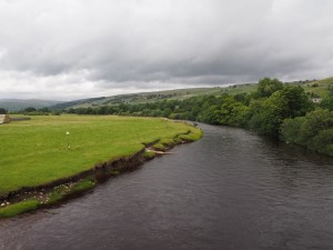 The River Wharfe from Conistone Bridge