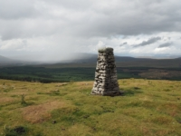 A shower over Ribblehead from the pillar on Cosh Knott