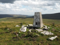 The Cosh Outside trig point