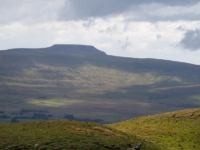 A close up of Ingleborough