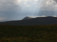 Shafts of light on Pen-y-ghent