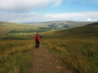 Descending back into Langstrothdale