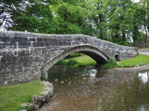 Footbridge in Linton