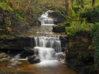 Waterfalls in Cray Gill