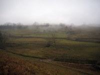 Low cloud over Cray Gill