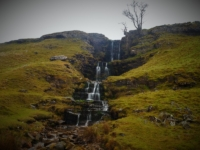 The wonderful waterfall on Cow Close Gill