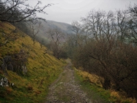 The path leading back down to Buckden