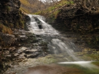 One of the waterfalls in Buckden Gill