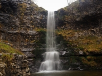 One of the three high waterfalls in Buckden Gill