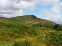 Looking back up at Embsay Crag