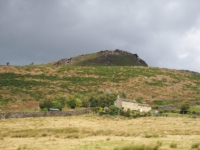 Embsay Crag above Grouse Cottage