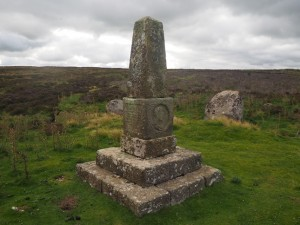 The Black Dub monument