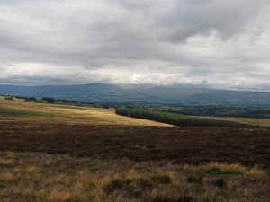Cross Fell and the Dun Fells