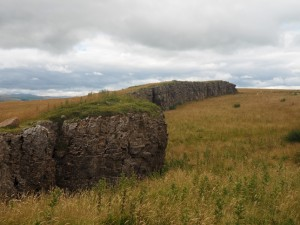 The quarried summit of Hardendale Nab