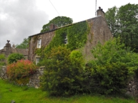 One of the cottages in the little hamlet of Wharfe