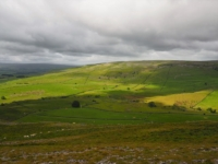 Looking across the valley towards Thwaite Scars