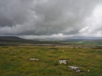 A glimpse of Ribblesdale