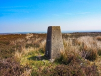 The Kettlestang Hill trig point