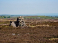 The cairn on High Ruckle Hill