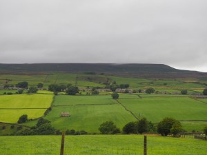 Carlton and Pen Hill from West Scrafton