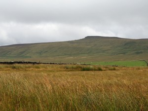 Great Roova Crag, a major landmark in this part of Coverdale
