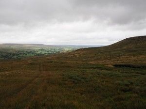 Dead Man's Hill and a distant Pen Hill