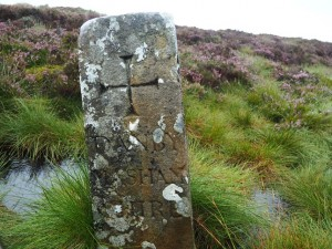 The boundary stone on Great Haw