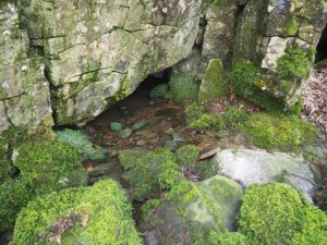 Cave entrance in Gastack Beck
