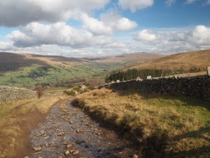 The view of Dentdale from Nunhouse Outrake