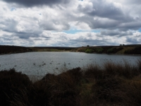 A small reservoir at Blubberhouses Quarry
