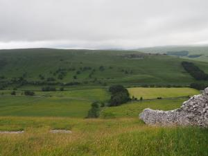 Looking across Littondale to Middlesmoor Pasture