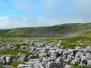 Limestone pavement above Dowkabottom