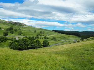 Knipe Scar and the River Skirfare