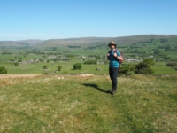 Above Gayle and Hawes