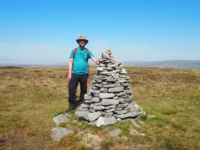 Next to the Drumaldrace cairn