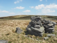 A random pile of stones on my way up to Dodd Fell