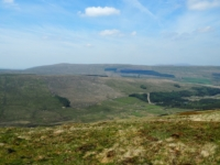 Looking across Snaizeholme to Great Knoutberry Hill