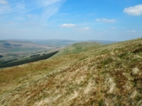 The Ten End ridge of Dodd Fell