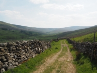 Following the lane into Sleddale