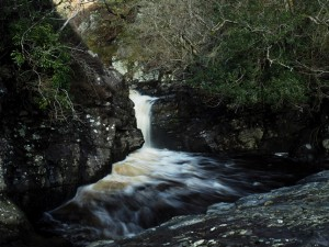 A lovely little waterfall on Leck Beck