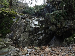 Another dry waterfall in Ease Gill